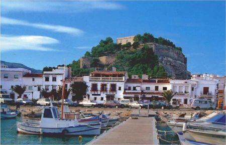 Découvrez la ville de Dénia sur la côte sud-est de l'Espagne