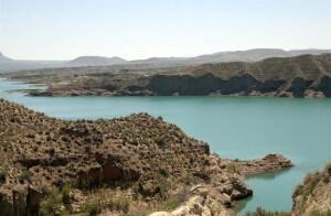 Embalse del Negratín lac espagne