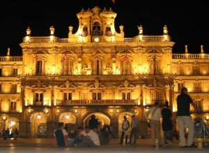 plaza mayor espagne salamanque